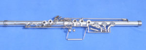Photo of a Flute with Linear Fingering