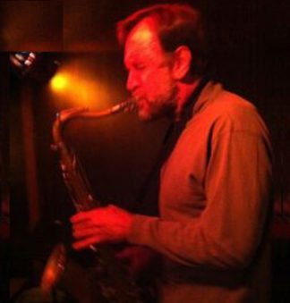 Photo of Jim Schmidt performing funk