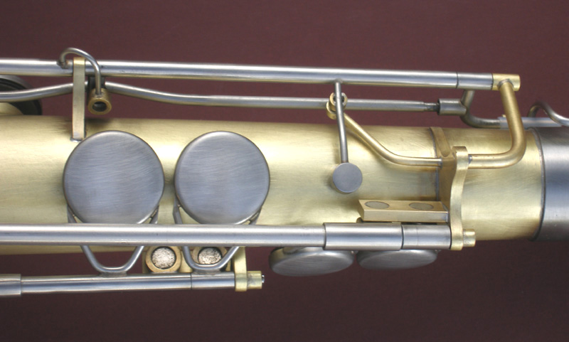 Photo of sax closeup